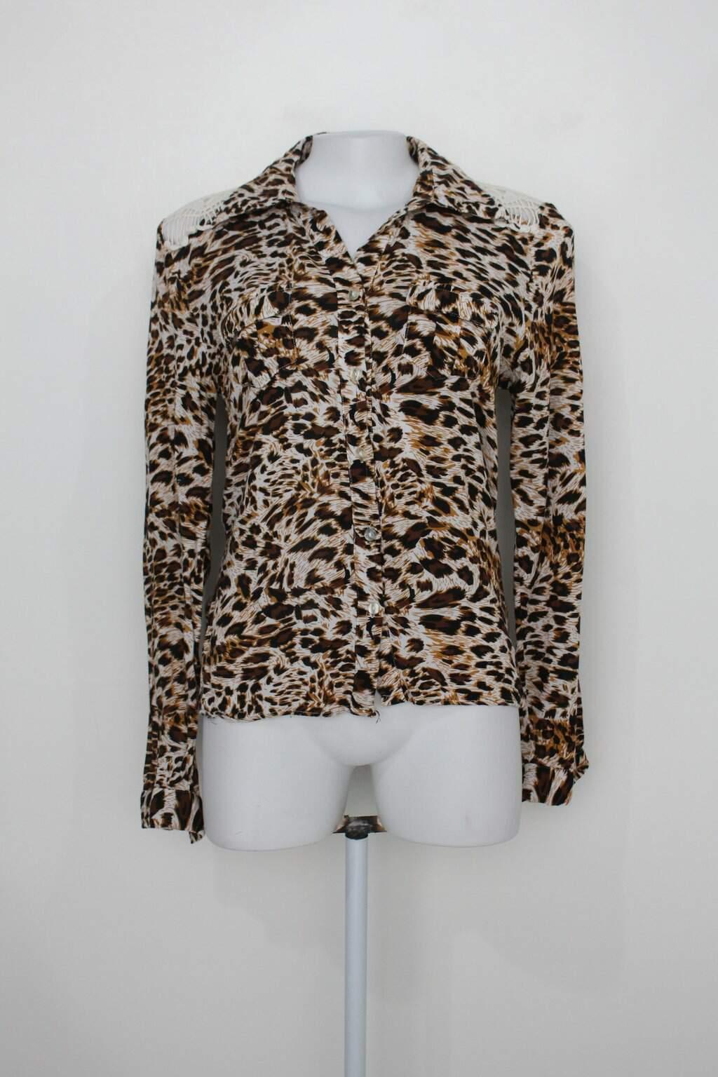 Camisa Leader Feminina Animal Print
