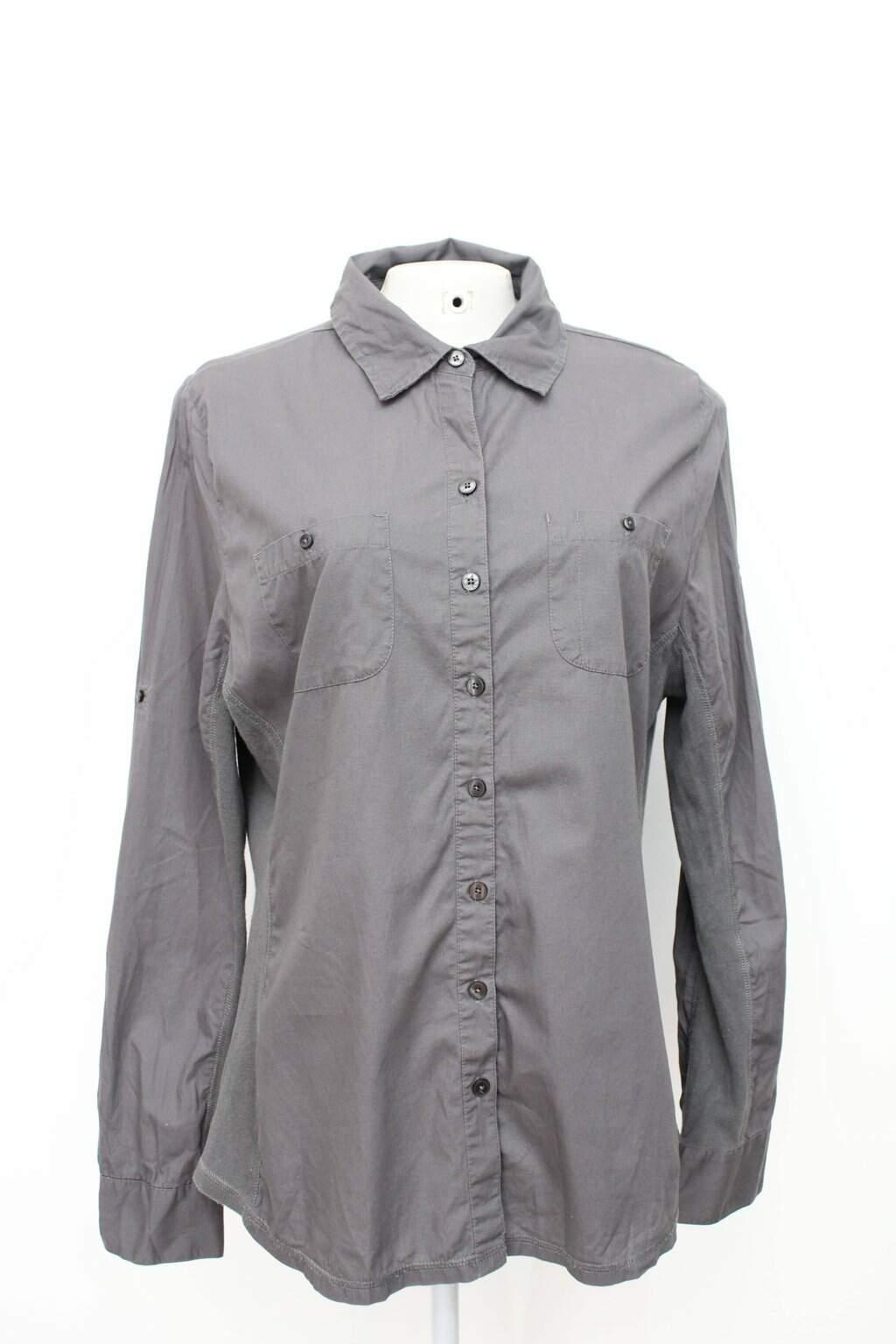 Camisa Feminina Cinza Converse