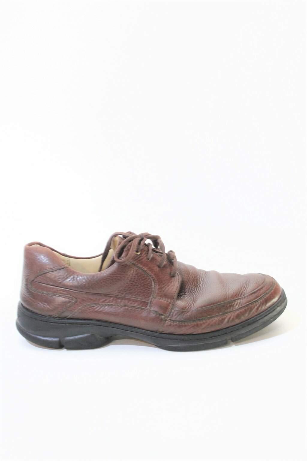Sapato Marrom Contém Brasil