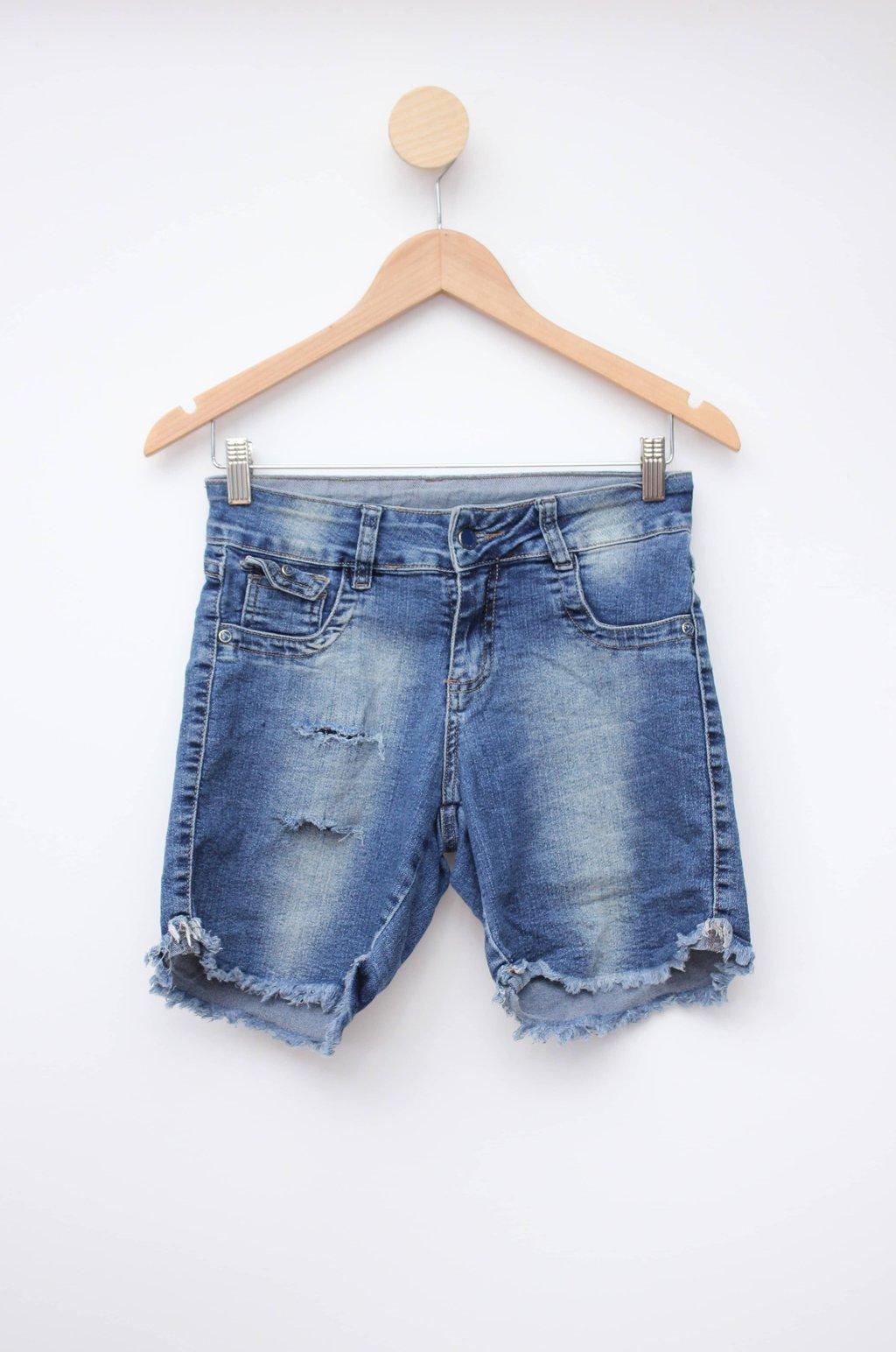 Bermuda jeans azul vizzy jeans