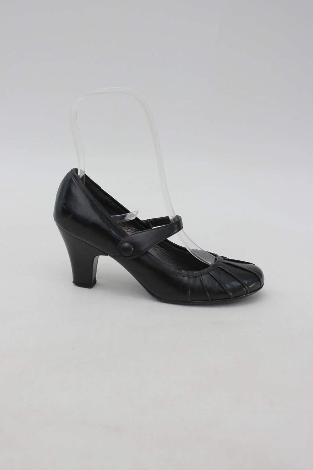 Sapato boneca preto corello