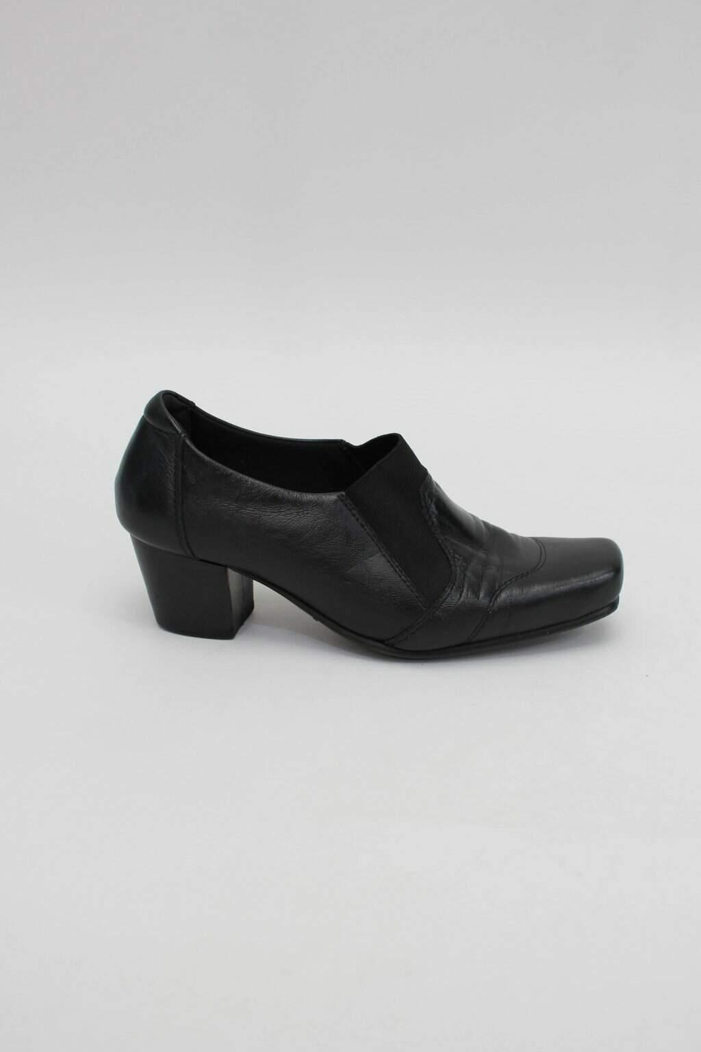 Sapato cas feminino preto