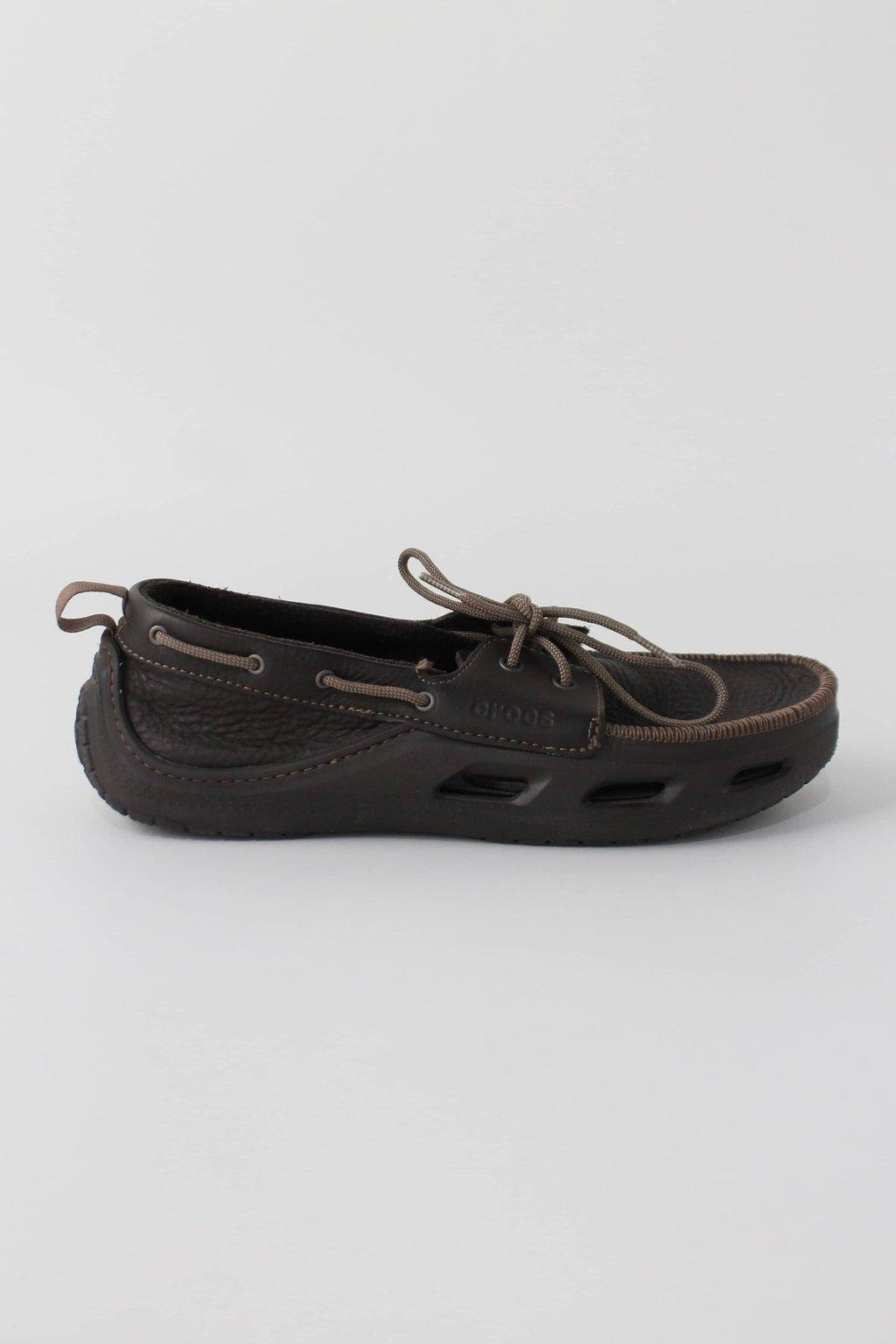 Sapato crocs masculino marrom