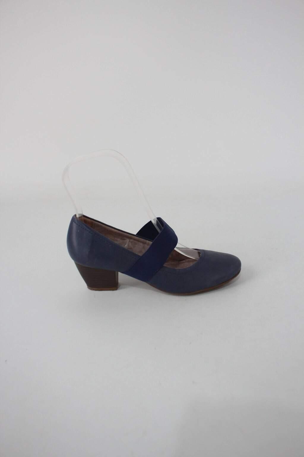 Sapato botero masculino azul