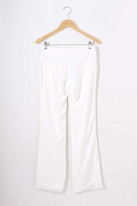 Calça Branca Thelure - TAM 36_foto de frente