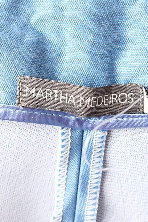 Calça Azul Martha Medeiros - TAM 44_foto de costas