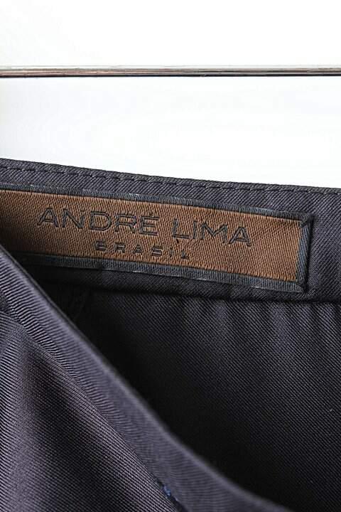 Pantalona Preta Laço André - TAM 36_foto de costas