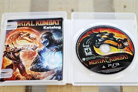 Jogo Mortal Kombat para PS3_foto de frente