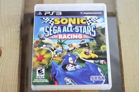 Jogo de PS3, Sonic & Sega All-Stars Racing_foto principal