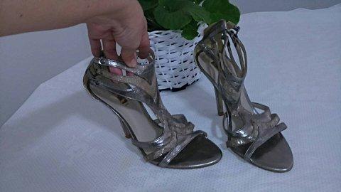 Sandália Dourado Envelhecido _