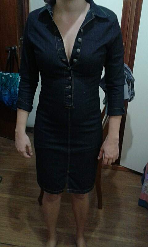 Vestido  Chemise Jeans _