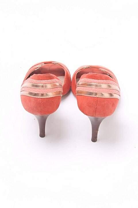 Peep Toe Shoestock Vermelho_foto de detalhe