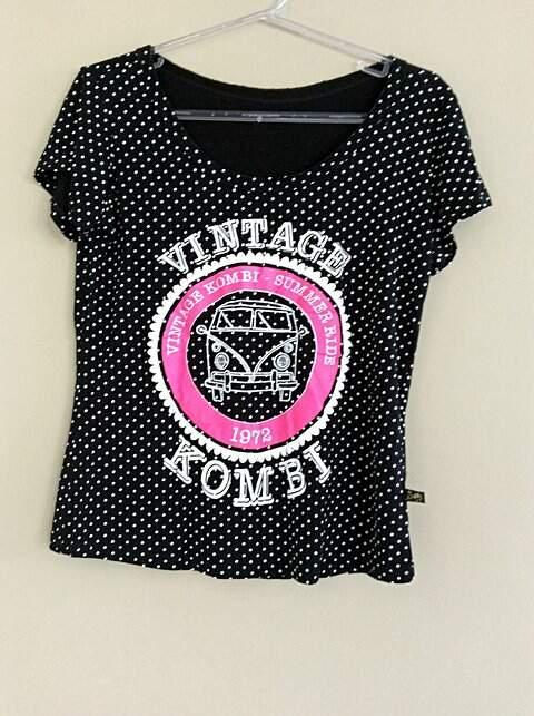 T-Shirt Poá Vintage_foto principal
