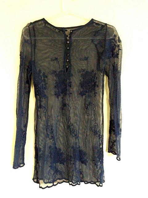 Blusa Zara  de Renda _foto de detalhe