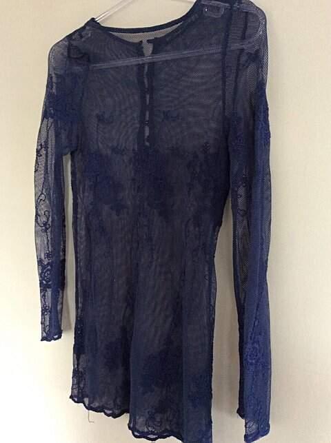 Blusa Zara  de Renda _outra foto