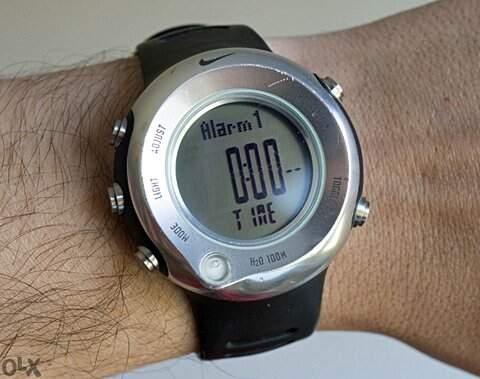 Relogio Nike Wa0018-001 Oregon Series Alti Compass _foto de detalhe