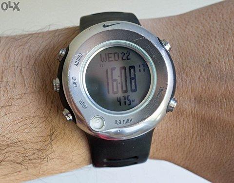 Relogio Nike Wa0018-001 Oregon Series Alti Compass _foto de frente
