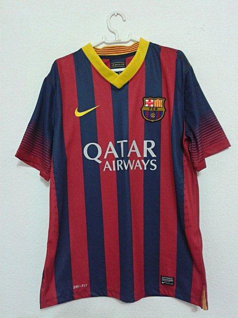Camisa 10 Oficial do Barcelona_foto principal