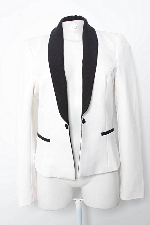 bd3811363de59 Blazer Branco Zara - compre por menos