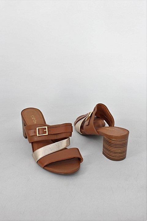 Sandália Feminina Luz Da Lua Preto - 228401 - Anita Shoes