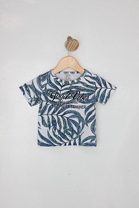 Camiseta Infantil pingo lele estampada_foto principal