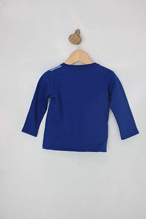 Blusa Infantil mineral estampada_foto de costas