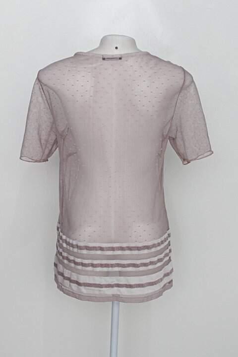 Blusa cavalera feminina rosa_foto de costas