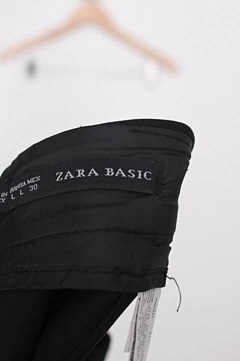Shorts Saia zara feminino preto_foto de detalhe