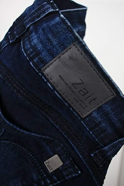 Calça Jeans zait feminina azul_foto de detalhe