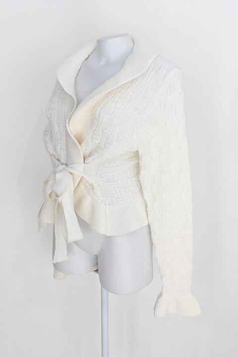 Blusa de tricot feminina off-white_foto de costas