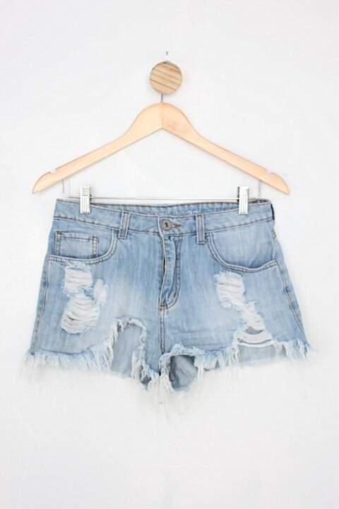 Shorts Jeans riachuelo feminino azul_foto principal