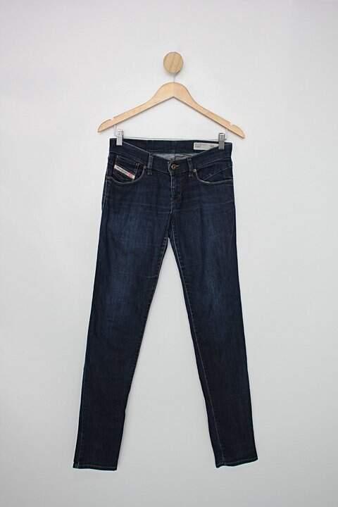Calça Jeans diesel industry feminina azul_foto principal