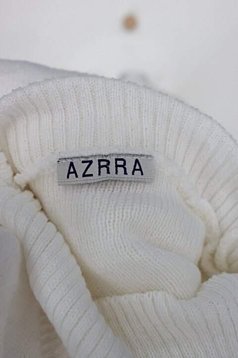 Malha azrra feminina branco_foto de detalhe