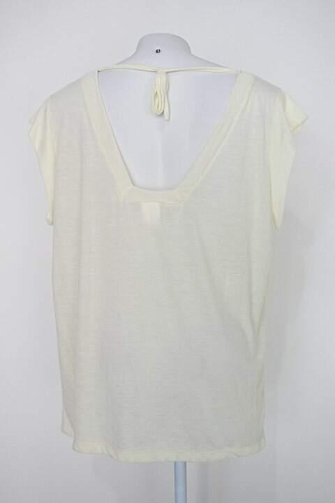 Blusa mercatto feminina amarela_foto de costas