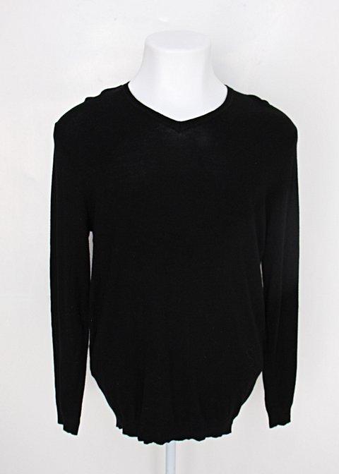 Suéter zara masculino preto_foto principal