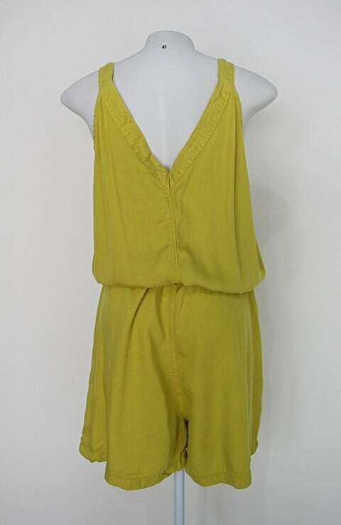Macaquinho renner feminino amarelo_foto de costas