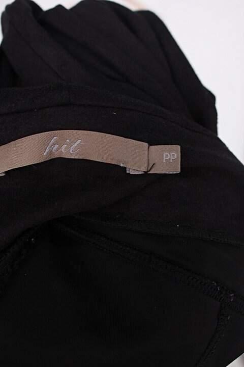 Calça de tecido hit feminina preta_foto de detalhe
