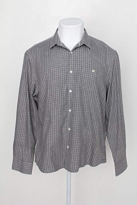 Camisa luigi bertolli masculina estampada_foto principal