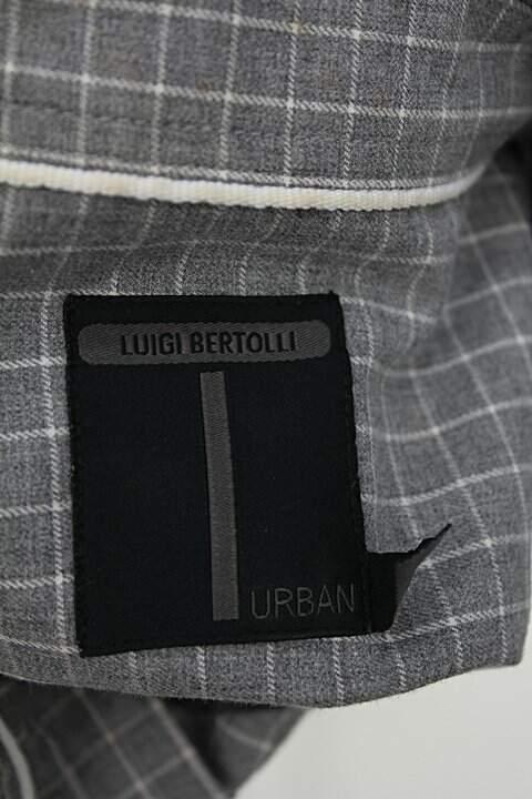 Camisa luigi bertolli masculina estampada_foto de detalhe