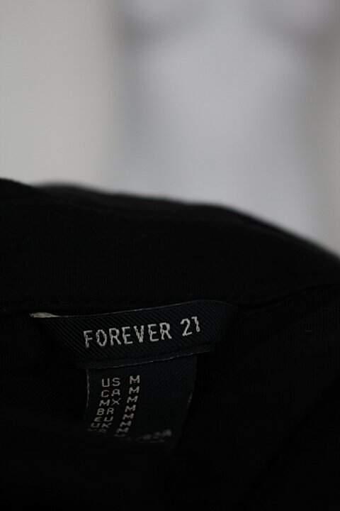 Vestido forever 21 feminino preto_foto de detalhe