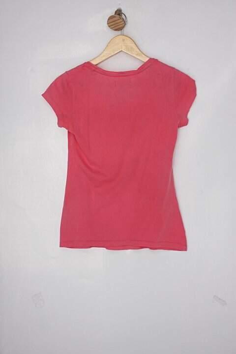 Blusa Infantil adidas rosa_foto de costas