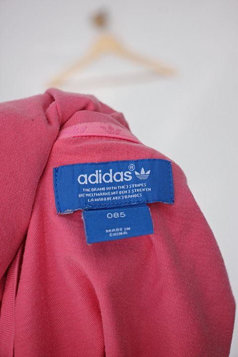 Blusa Infantil adidas rosa_foto de detalhe