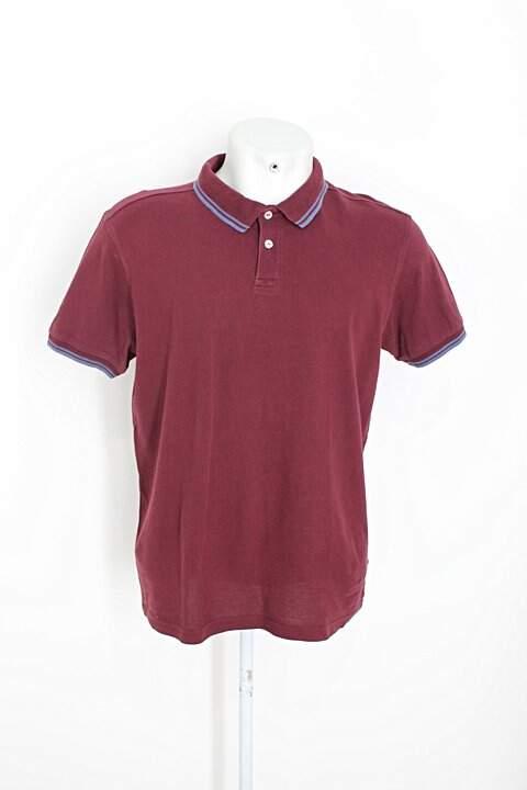 Camisa Polo pique polo masculina vinho_foto principal