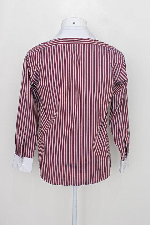 Camisa tommy hilfiger masculina listrada_foto de costas