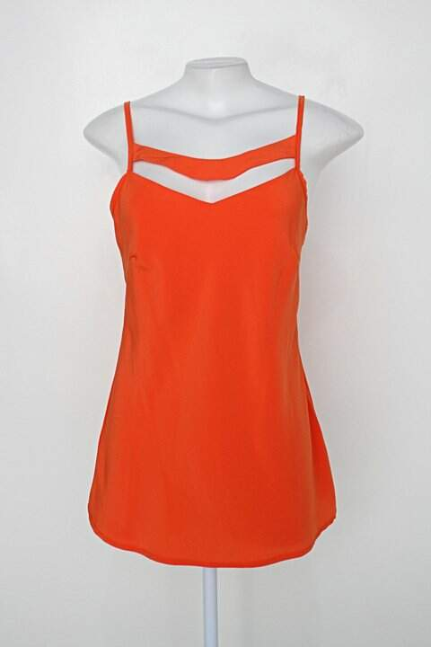 Regata nakepe feminina laranja com Recortes_foto principal