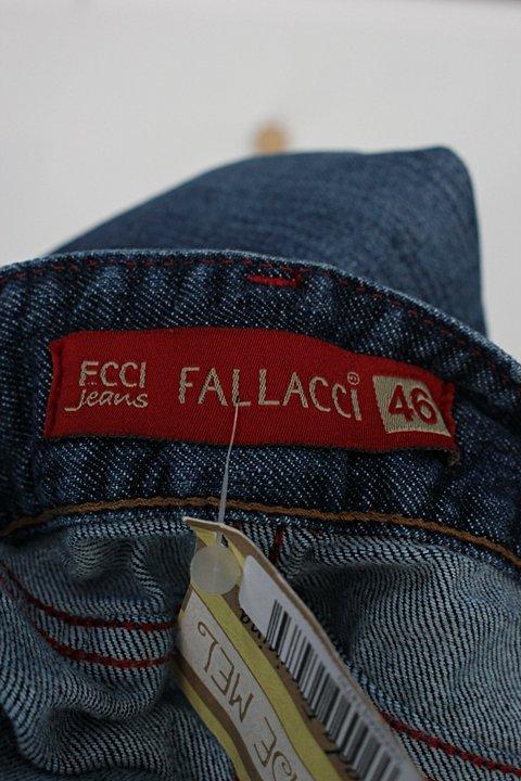 Bermuda jeans fallacci feminina azul_foto de detalhe
