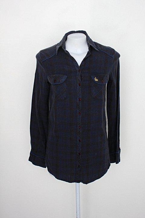 Camisa luigi bertolli feminina estampada_foto principal