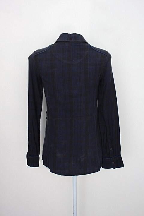 Camisa luigi bertolli feminina estampada_foto de costas