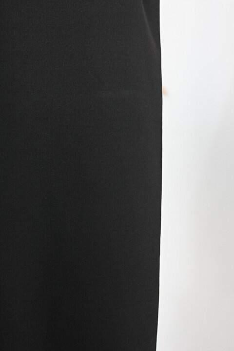 Calça de tecido feminino preto_foto de detalhe