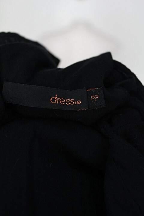Vestido c&a feminino preto_foto de detalhe